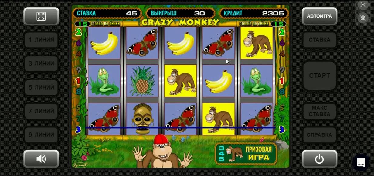 Crazy monkey ➧ играть бесплатно в автоматы крейзи манки онлайн